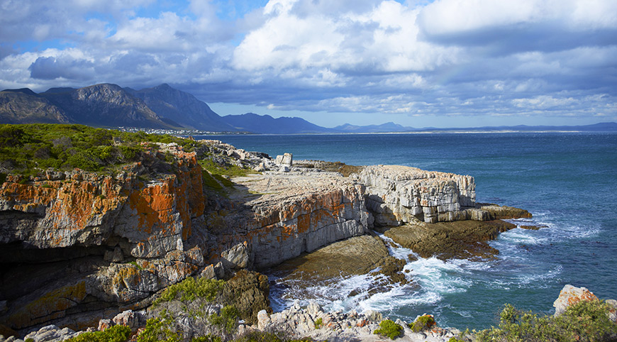 The magnificent views from the Hermanus cliffs