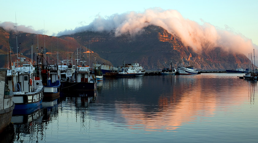 Hout Bay Harbour Sunset (Cape Peninsula Tour)
