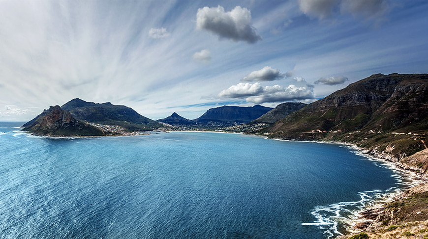 The View of Hout Bay from Chapman's Peak (Cape Peninsula Tour)