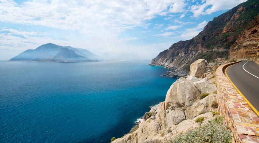 View from Chapman's Peak Drive (Cape Peninsula Tour)